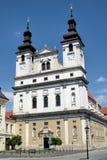 TRNAVA, SLOVAKIA  - near the city tower, In Trnava, Slovakia Stock Images