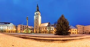 Trnava - Trojicne namestie, Slovakia. Trnava - Trojicne namestie in Slovakia Royalty Free Stock Images