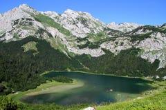 Trnovacko jezero黑山 免版税库存照片