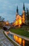Trnovska cerkev SV Janeza Krstnika royalty-vrije stock foto