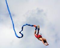tro hoppar Fotografering för Bildbyråer