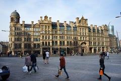 Troca de milho de Manchester imagens de stock royalty free