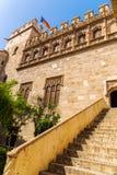 Troca de seda velha, Valência, Espanha foto de stock royalty free