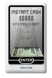 Troca do ATM do banco Imagem de Stock Royalty Free