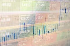 Troca do mercado de valores de ação fotos de stock royalty free