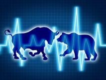 Troca e investimento Imagem de Stock