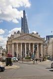 Troca real, Banco da Inglaterra Estação quadrada e subterrânea fotografia de stock
