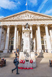 Troca real na junção do banco em Londres, Reino Unido imagem de stock royalty free