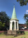 Troca velha Bell da cidade no savana, GA fotos de stock royalty free