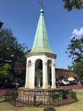 Troca velha Bell da cidade no savana, GA fotografia de stock royalty free