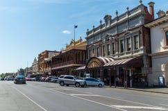 Troca velha da mineração de Ballarat foto de stock