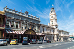 Troca velha da mineração de Ballarat imagens de stock royalty free