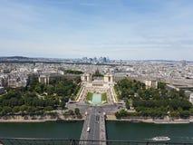 Trocadero宫殿 免版税库存照片