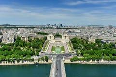 Trocadero - Παρίσι, Γαλλία Στοκ Φωτογραφίες