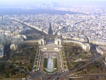 trocadero του Παρισιού Στοκ φωτογραφίες με δικαίωμα ελεύθερης χρήσης