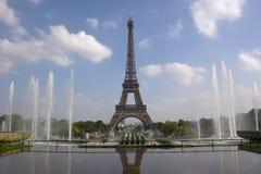 trocadero башни eiffel paris Стоковые Изображения