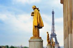 trocadero статуи Стоковые Изображения RF