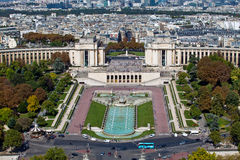 trocadero Франции paris Стоковая Фотография