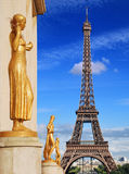Trocadero. Royalty Free Stock Image