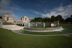 Trocadero Fountain - Stock image Stock Image