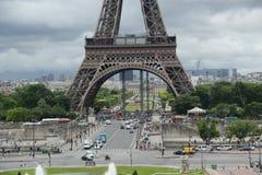 Trocadero i Paris Arkivbilder