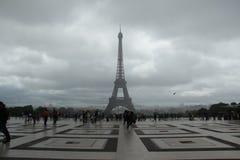 Trocadero i Paris Royaltyfri Bild