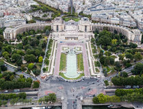 Trocadero Palace Paris France Stock Photography