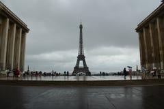 Trocadero in Parijs Stock Afbeeldingen