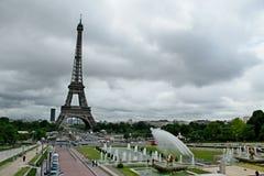 Trocadero in Parijs Royalty-vrije Stock Afbeeldingen