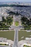 Trocadero - Parijs, Frankrijk Stock Foto's