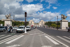 Trocadero Paris France Royalty Free Stock Photo