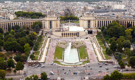 Trocadero, Paris, France Royalty Free Stock Photos