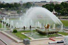 Trocadero in Paris. Royalty Free Stock Photo