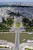 Trocadero, Paryż -, Francja Zdjęcia Stock