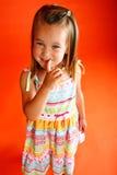 trochę śliczna dziewczyna Obraz Royalty Free