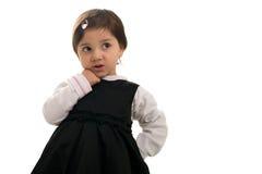 trochę śliczna dziewczyna Obraz Stock