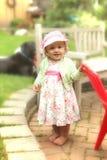 trochę śliczna dziewczyna Obrazy Royalty Free