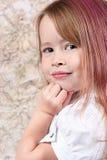 trochę śliczna dziewczyna zdjęcie stock