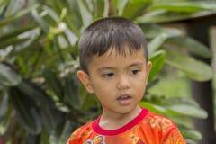 trochę azjatykcia chłopiec Obraz Royalty Free