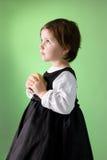 trochę dziewczyny jabłczany śliczny mienie Zdjęcie Royalty Free