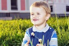 trochę piękna chłopiec Zdjęcia Royalty Free