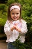 trochę piękna dziewczyna Zdjęcia Royalty Free