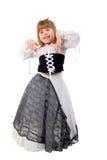 trochę piękna kostiumowa czarodziejska dziewczyna Obrazy Stock