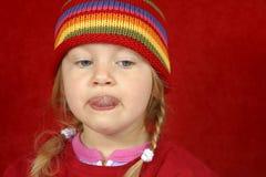 trochę słodka dziewczyna Obrazy Royalty Free