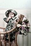 trochę słodka dziewczyna Obraz Stock