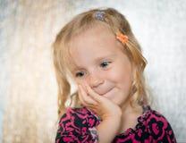 trochę słodka dziewczyna Zdjęcie Stock