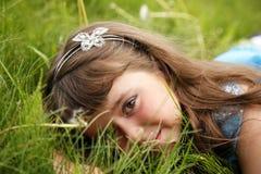 trochę słodka dziewczyna Zdjęcia Royalty Free