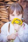 trochę słodka dziewczyna zdjęcie royalty free