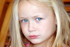 trochę smutna dziewczyna obrazy stock