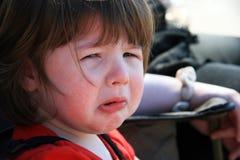 trochę smutna płacz dziewczyna Zdjęcie Royalty Free